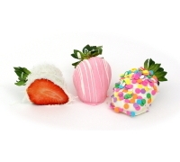 New Baby Chocolate Strawberries 6ct