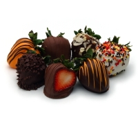 Fall Chocolate Strawberries 12ct