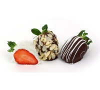 Gourmet Chocolate Strawberries 6ct