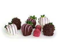 Chocolate Strawberries and Swiss Style Truffles
