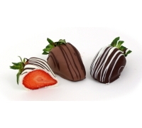 Chocolate Strawberries Trio 6ct